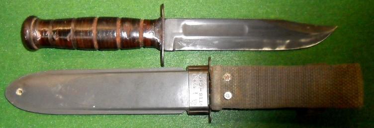 Excellent Wwii Usn Kabar Mk2 Combat Knife