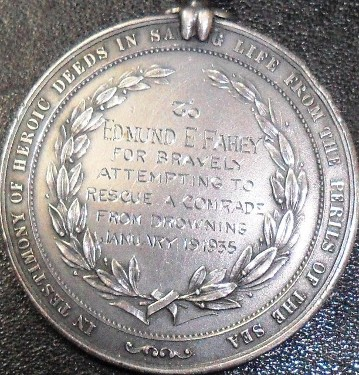 US medals numbering & engraving